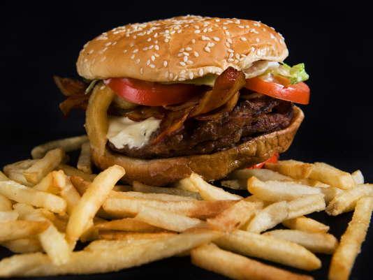 "Un ""Angry Triple Whopper"" de Burger King."