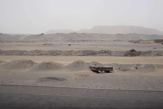 Une mine à Zouerate, en Mauritanie.