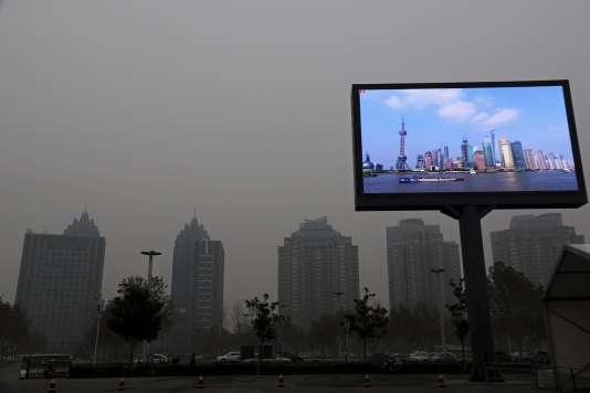 Dans la province du Henan, début décembre.