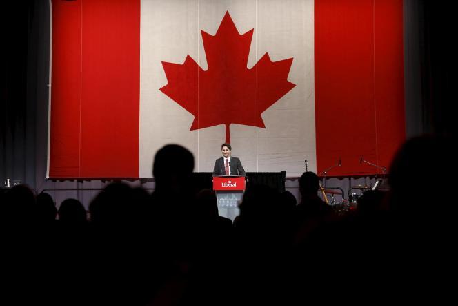 Le premier ministre canadien, Justin Trudeau, en décembre 2015 à Ottawa.