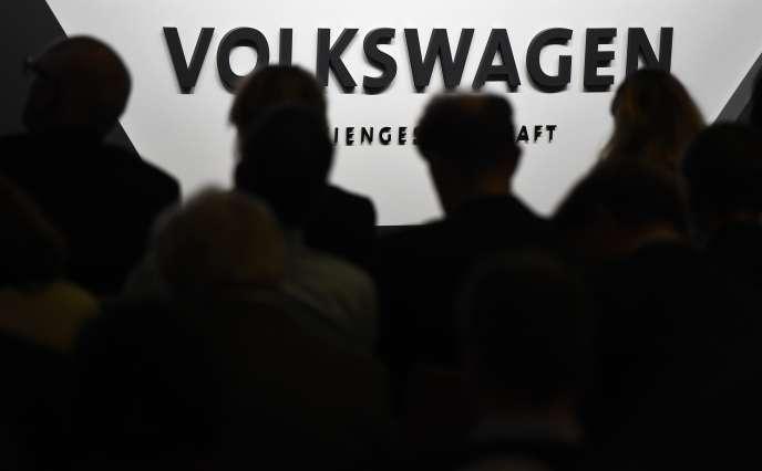 Point presse à Wolfsburg, le 10 décembre.