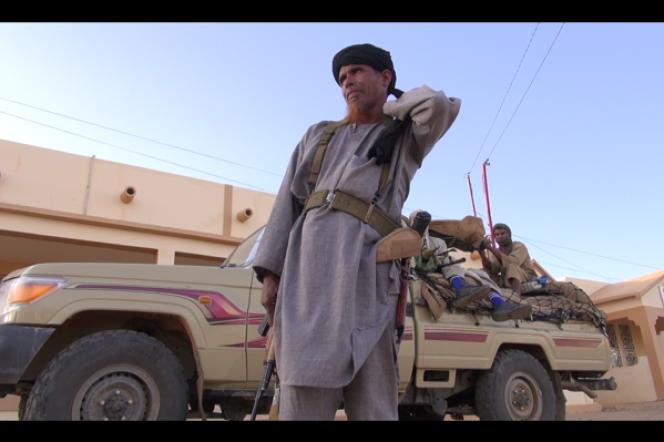 Omar Ould Hamaha, chef militaire du Mujao et lieutenant de Mokhtar Belmokhtar.