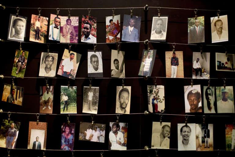 Au Mémorial du génocide rwandais, à Kigali, en avril 2014.