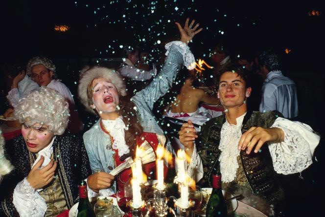 Le bal Barry Lyndon organisé par le Caca's au Palace.