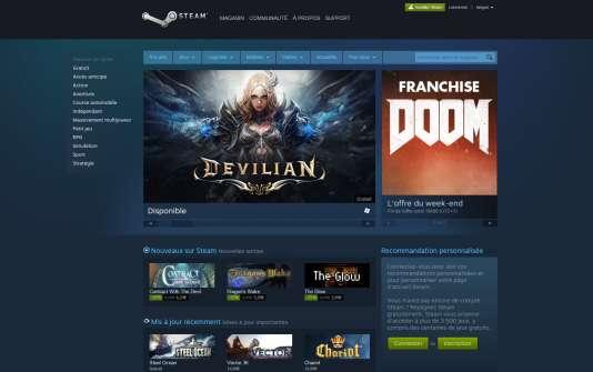 Capture d'écran Steam.