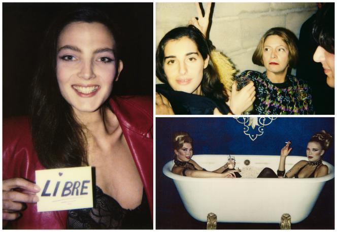 Au club, les filles sont les bienvenues, à condition qu'elles soient jolies : Alexandra Sulitzer, après sa séparation d'avec Paul-Loup, l'actrice Amira Casar et Françoise Lacroix, épouse de Christian, et deux danseuses du groupe Kid Creole and the Coconuts…