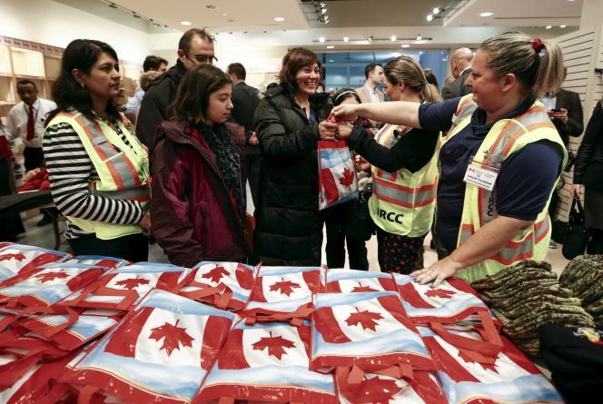 A l'aéroport de Toronto, le 11 décembre.
