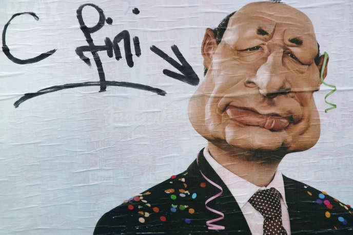 La marionnette de Jacques Chirac, emblématique des « Guignols de l'info» à leur heure de gloire.