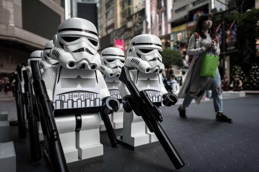 Les Lego Star Wars, armés jusqu'aux dents.