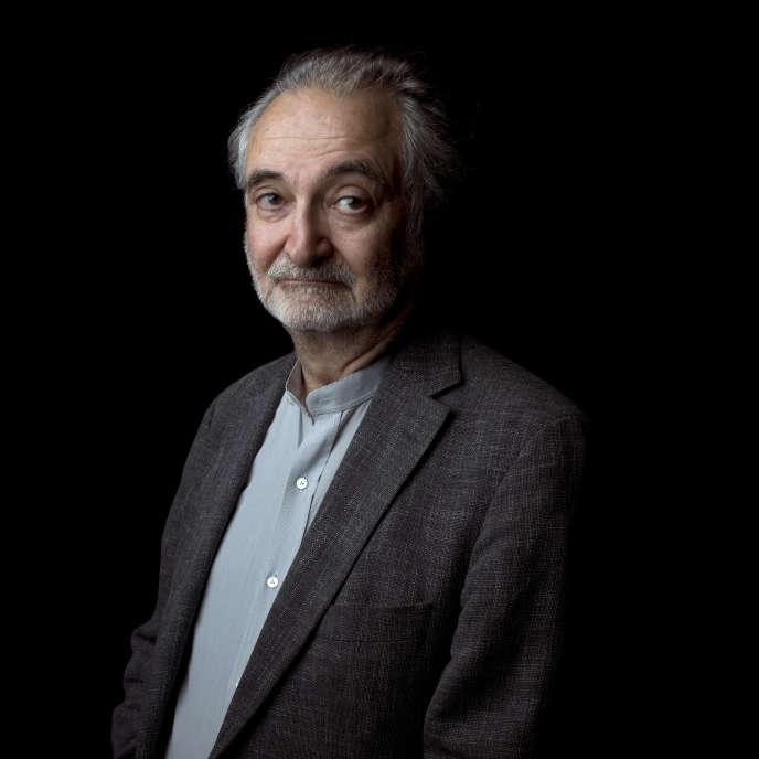 Jacques Attali le 21 octobre 2012 à Paris.