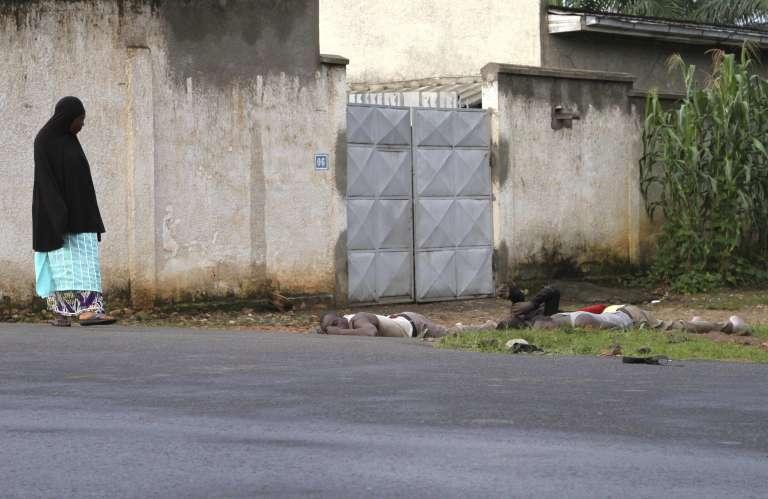 Dans une rue de Bujumbura, le 12 décembre 2015.