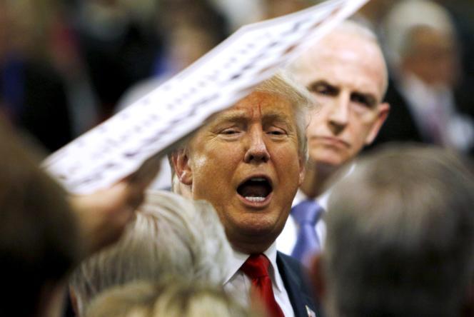 Donald Trump à un meeting dans l'Iowa le 11 décembre 2015.