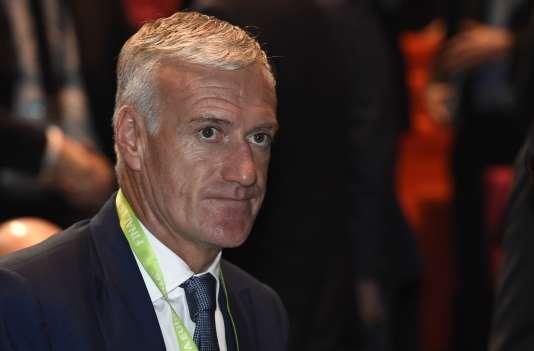 Didier Deschamps le 12 décembre.