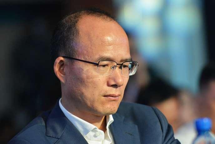Le président du groupe chinois Fosun, Guo Guangchang, en juin 2015.