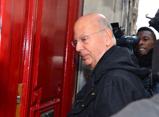 Patrick Buisson, en octobre 2012 à Paris.