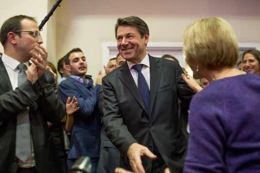 Christian Estrosi  a remporté le second tour des élections régionales en Provence Alpes-Côte d'Azur, le 13 décembre .