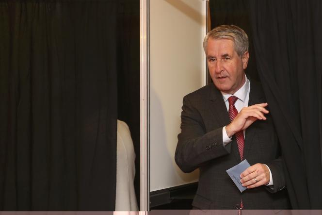 Philippe Richert, le président de Régions de France, le 13 décembre 2015durant les élections régionales.