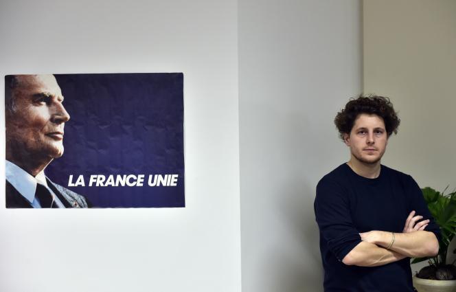 Julien Bayou, secrétaire général d'EELV, à Paris, le 13 décembre 2015.