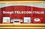 Un magasin Telecom Italia, à Rome.