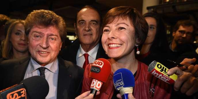 A 44 ans, la socialiste Carole Delga sera la plus jeune présidente d'une région en Languedoc-Roussillon-Midi-Pyrénées.