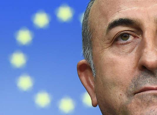 Le chef de la diplomatie turque Mevlut Cavusoglu.