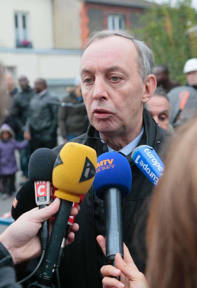 Pascal Beaudet, maire d'Aubervilliers, a annoncé sa démission.