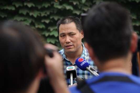 L'avocat Pu Zhiqiang en 2012.