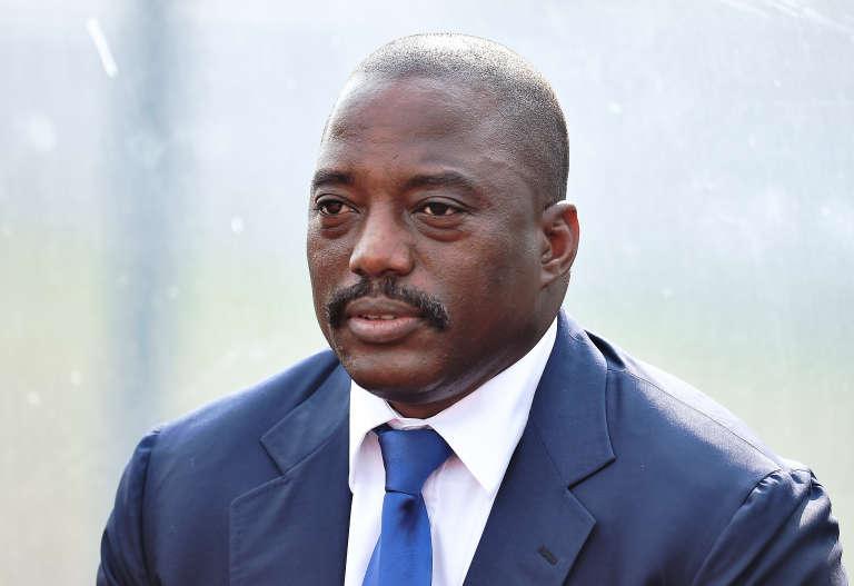 Joseph Kabila, président de la République démocratique du Congo, à Bata en Guinée-Equatoriale, en février 2015.