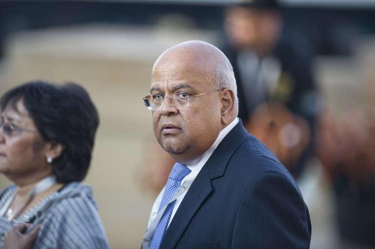 Le nouveau ministre sud-africain des finances Pravin Gordhan.