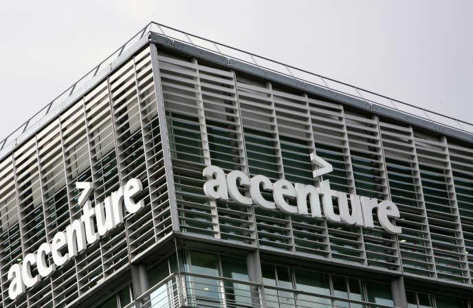 L'immeuble d'Accenture à Paris en 2009.