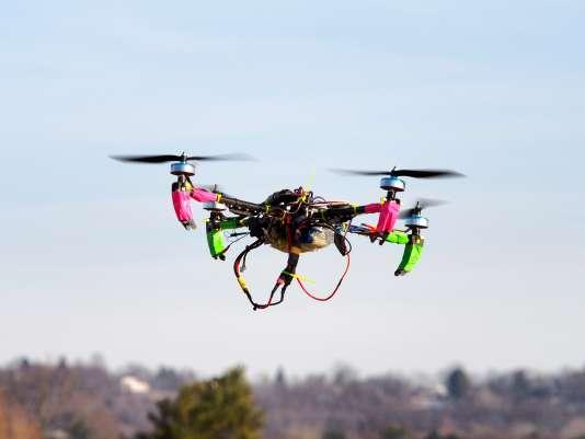Un drone dans le Maryland, aux Etats-Unis, où ces engins devront désormais être enregistrés.