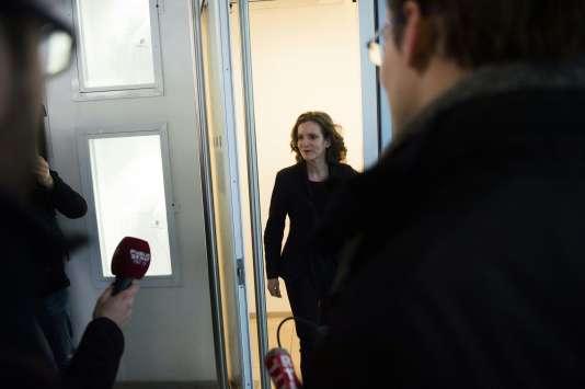Nathalie Kosciusko-Morizet au siège des Républicains, à Paris, le 14 décembre.