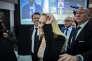 Marion Maréchal-Le Pen (FN), lors de la soirée électorale du second tour des élections régionales, dimanche 13 décembre au Florida Palace, à Marseille.