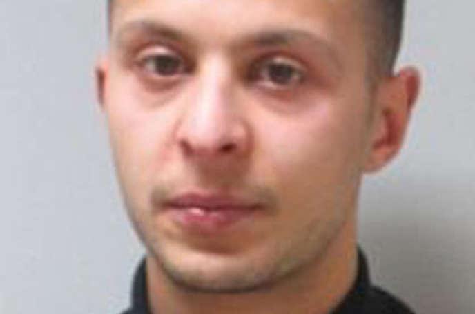Portrait de Salah Abdeslam fourni par la police belge, non daté.