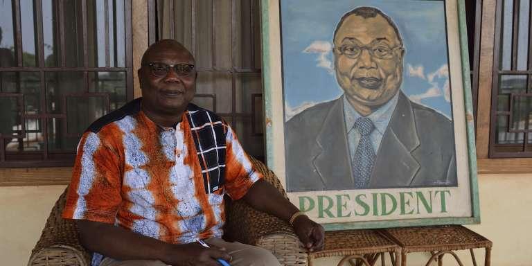L'ancien premier ministre et candidat à la présidentielle en Centrafrique, Martin Ziguélé.