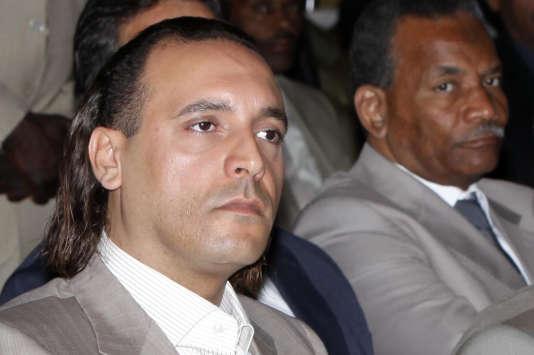 Hannibal Kadhafi en octobre 2010.