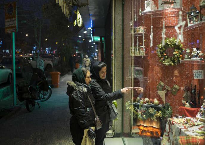 A Téhéran, dimanche 13 décembre.