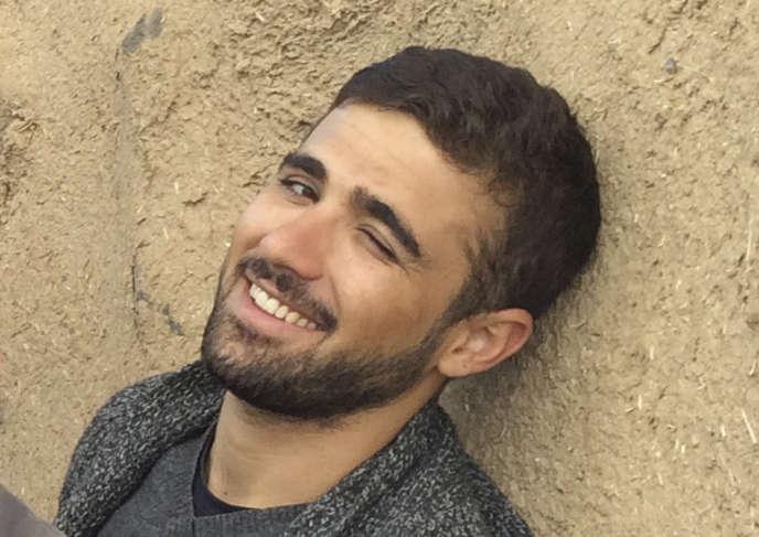 Une photo de Mohammed Ismael Rasool, le 1er novembre 2014, à Suruc en Turquie.