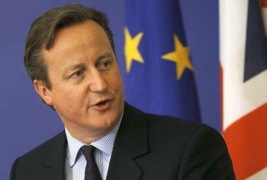 David Cameron lors d'une conférence à Sofia, en Bulgarie, le 3 décembre.