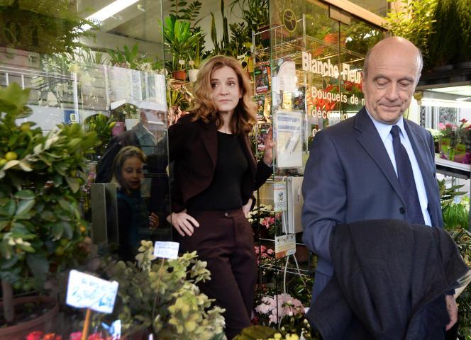 Nathalie Kosciusko-Morizet et Alain Juppé, le 26 février 2014.
