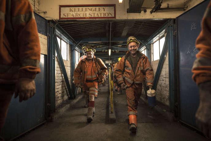 Dans la mine de Kellingley (nord de l'Angleterre), le 11 décembre.