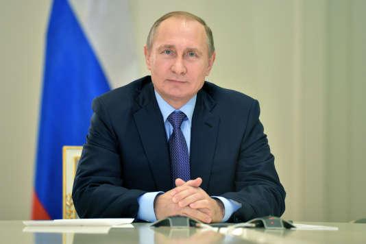 Le président russe Vladimir Poutine, le 15 décembre 2015.