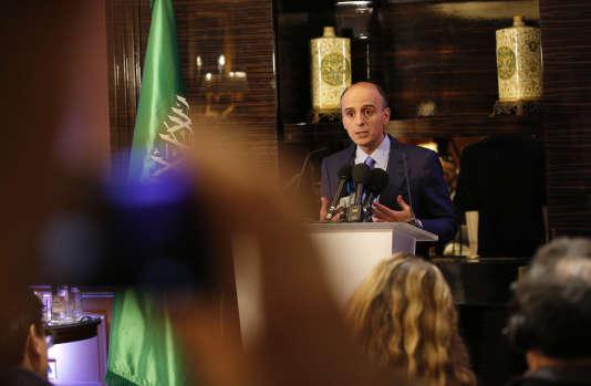 Le ministre des affaires étrangères saoudien, Adel Al-Joubeir, le 15 décembre 2015 à Paris.