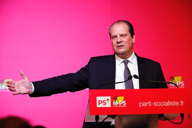Le premier secrétaire du Parti socialiste, Jean-Christophe Cambadélis, le 15 décembre à Paris.