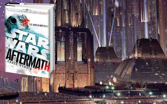 """La trilogie """"Aftermath"""" (""""Riposte"""" en VF), encore inédite en français, est celle qui détaille le plus le nouvel univers étendu."""