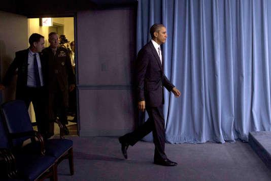 Barack Obama à Washington le 14 décembre 2015.