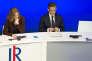 Nathalie Kosciusko-Morizet et Nicolas Sarkozy, lors du conseil national du parti Les Républicains, le 7novembre, à Paris.