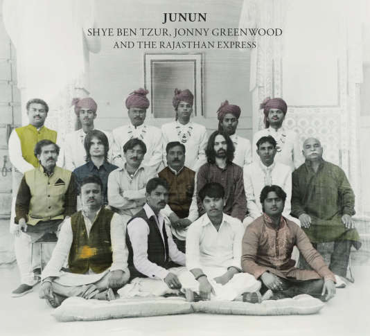 Pochette de l'album « Junun », de Shye Ben Tzur, Jonny Greenwood and The Rajasthan Express.