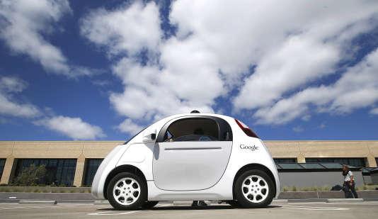 Une Google Car présentée en mai dernier.