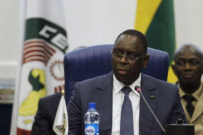 Le président sénégalais Macky Sall, le 16 décembre 2015.